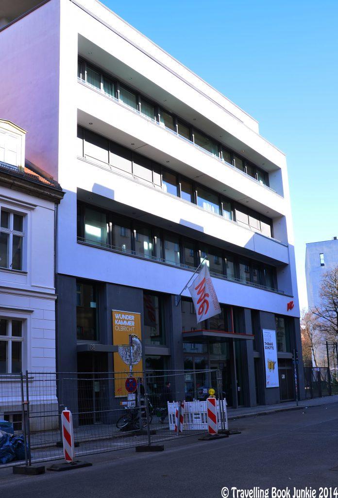Side street art gallery in Berlin