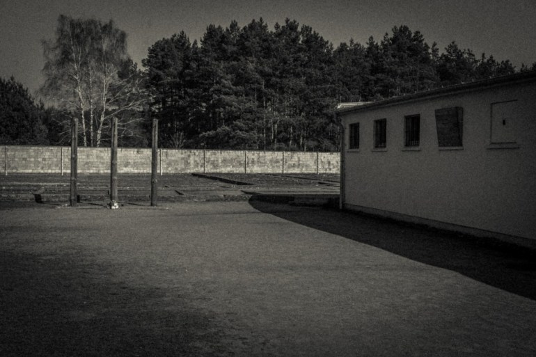Prison-building-at-Sachsenhausen-concentration-camp