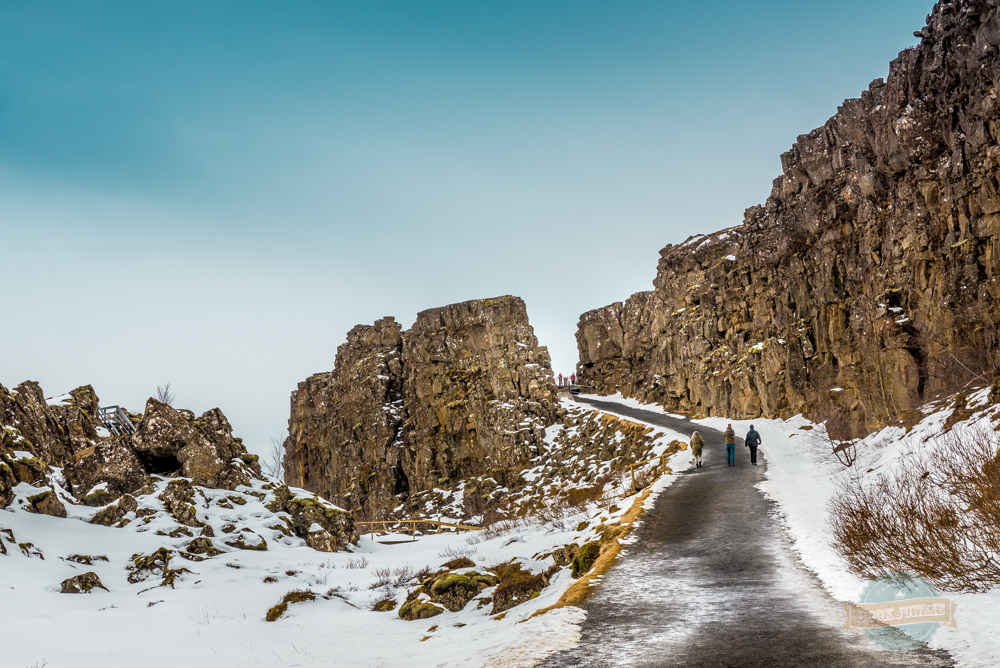 The Rock Formations of Þingvellir