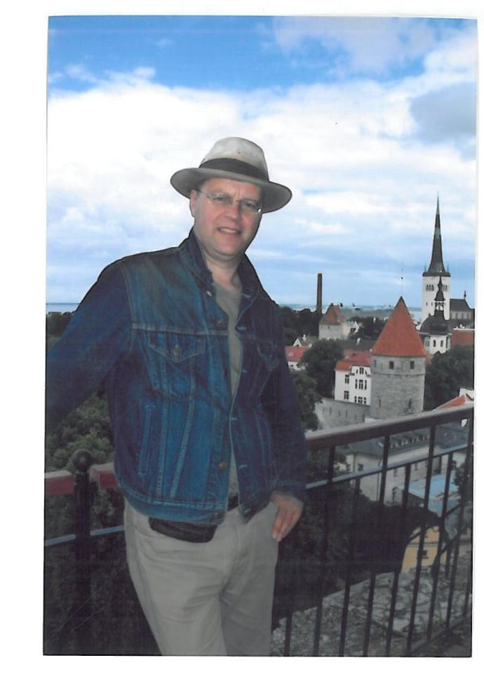 Max Boyle, Author, Estonia, Teacher, Travel Writer