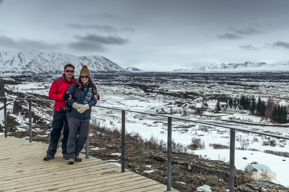 Views across Þingvellir National Park