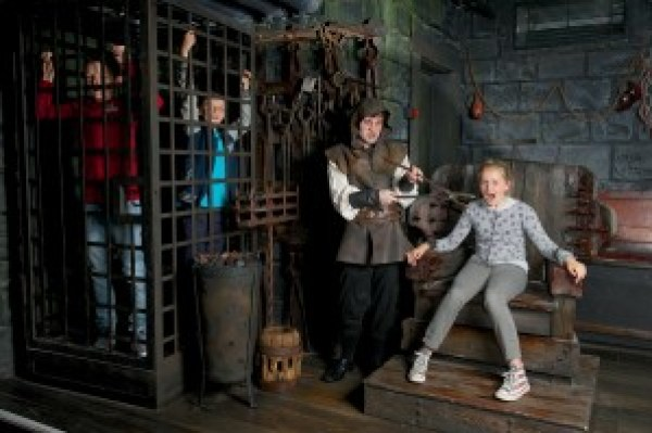 The Torturer at the London Dungeon, pain and punishment, suffering