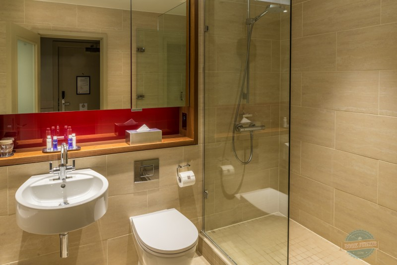 Bathroom at the APex London Wall Hotel
