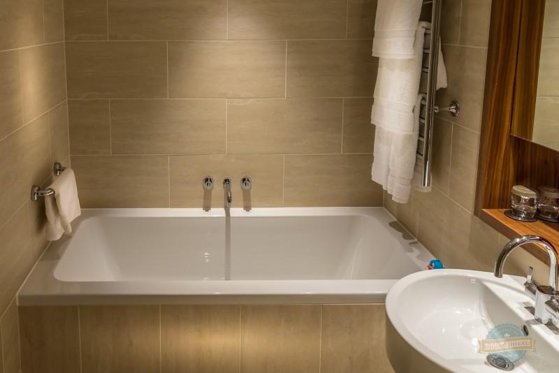 The deep bath at the apex london wall hotel