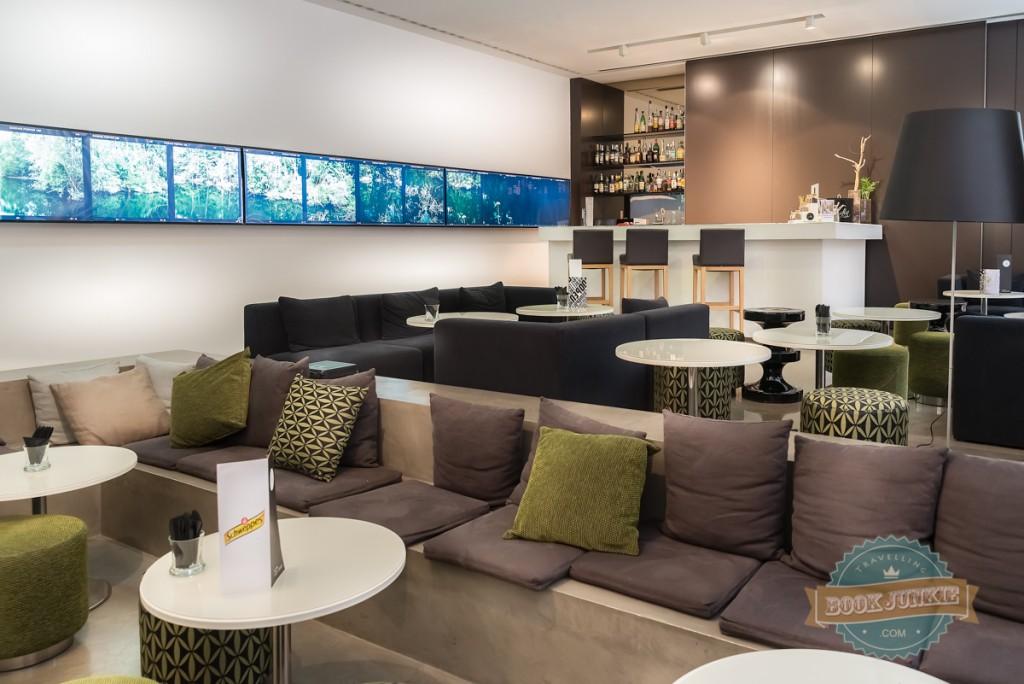 Bar area at the inspira santa marta hotel in lisbon portugal