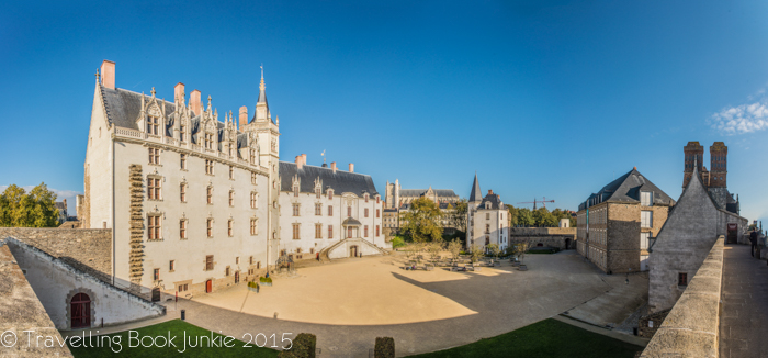 Inside the Chateau, Nantes, France, Francois II, Gothic, Renaissance, Anne of Brittany