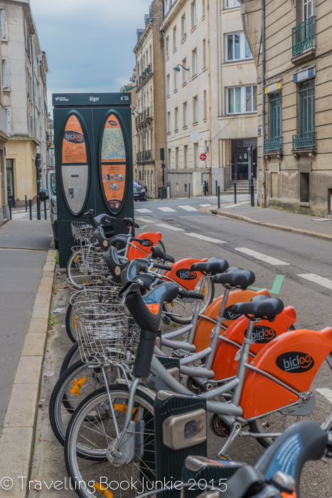 Bikes of Nantes, France, velo, Bikehire