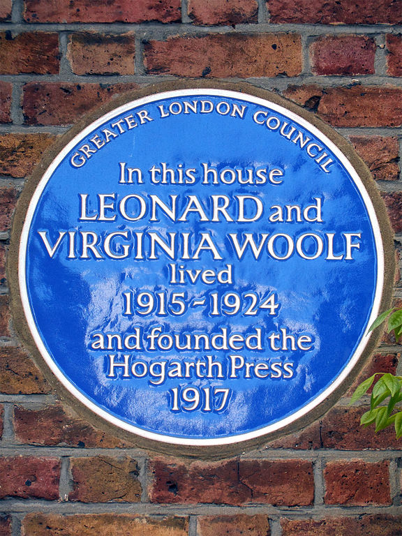 hitoric blue plaques, Bloomsbury, London, history, literature