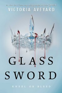 Glass Sword by Victoria Aveyard, book released in 2016