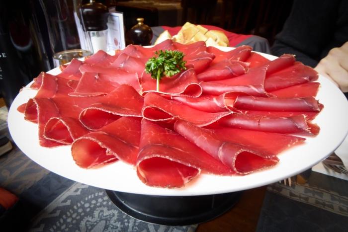 Cafe Du Grutli, beef, Lake Leman, Lake Geneva, Lausanne, Switzerland, Food