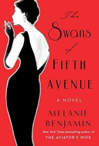 Swans of Fifth Avenue, book release in 2016, book cover