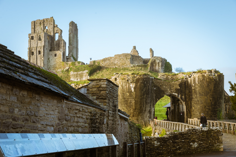 Corfe Castle, Dorset, UK