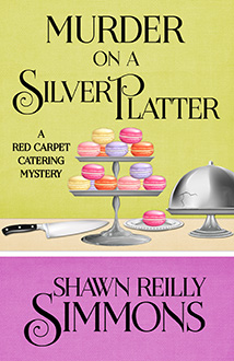Murder on a Silver Platter, Shawn Reilly Simmons, Cozy crime. cosy crime