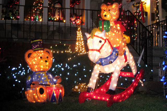 Festive Lights of New York