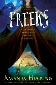Freeks, new release for January 2017, books, novels