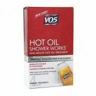 VO5 hot oil hair care treatment, frizzy hair, dry hair, conditioner