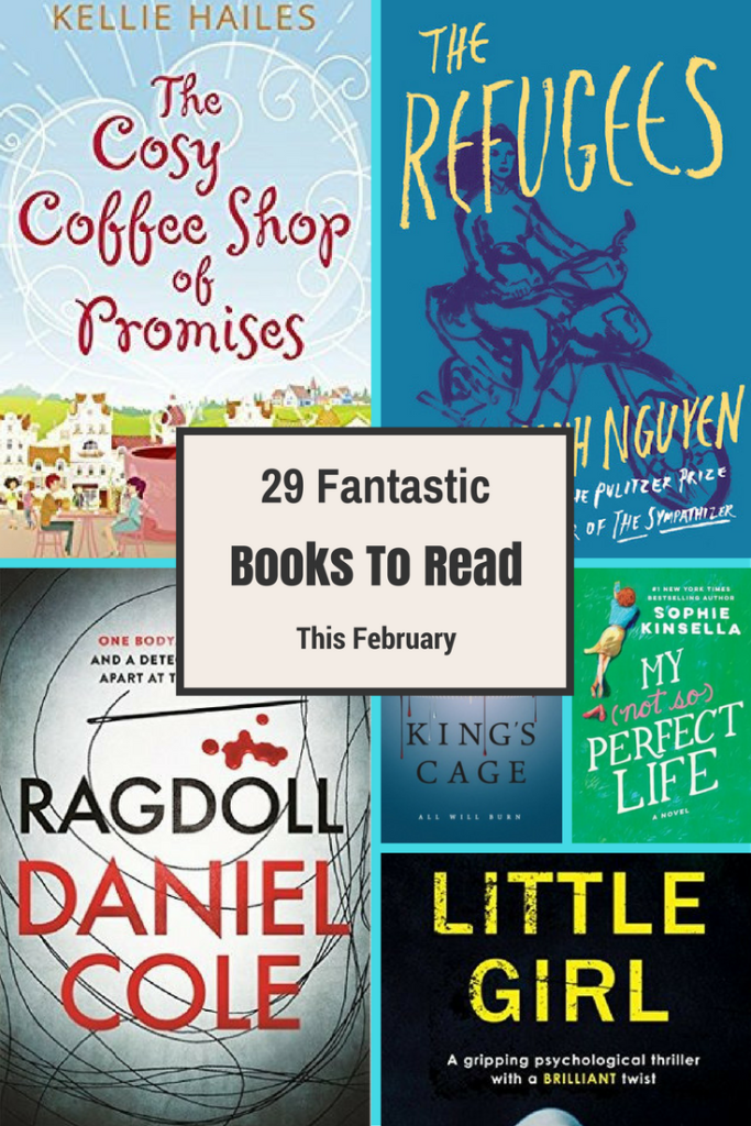 Novels, New releases, books, February, Travelling Book Junkie