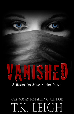 Vanished, T.K. Leigh, February Release, new book, publishing, Travelling Book Junkie