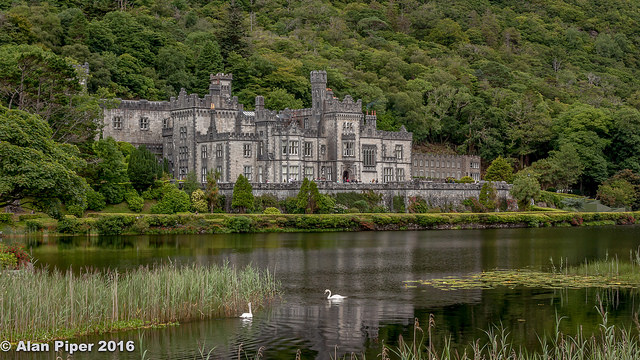 travelling book junkie, popular destinations, amazing destinations, must see places, famous places, beautiful, places, ideas for, vacation, holiday, Ireland, europe, kylemore abbey, castle, irish, travel, destinations, unique,