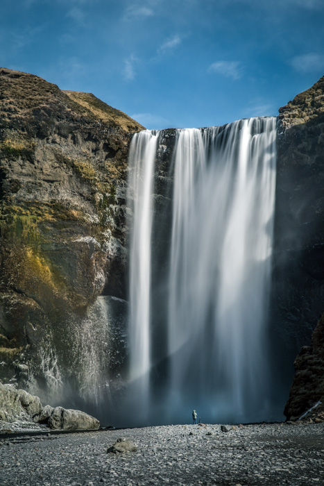 Iceland, Europe, Film locations, Travelling Book Junkie, Travel, Travelling, Unique Travel, Unusual Travel, Skogafoss Waterfall