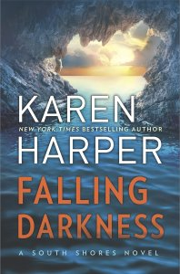 April new read, novel, book, FAlling Darkness, Karen Harper, Travelling Book Junkie