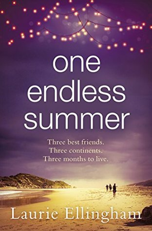 April new read, novel, book, One Endless Summer, Laurie Ellingham, Travelling Book Junkie