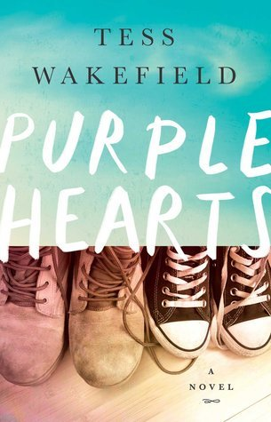 April new read, book, novel, Purple Hearts, Tess Wakefield, Travelling Book Junkie