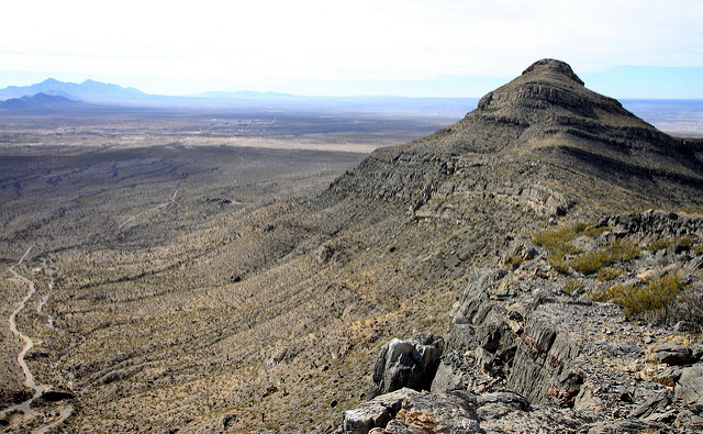 Bishops Cap, The Franklins Mountains, El Paso, Texas, America, Travel, Travelling Book Junkie