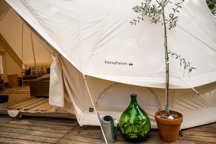 nordisk village, camping ca'savio, venice, italy, glamping, beach, tent, beds, cavallino, coastline,