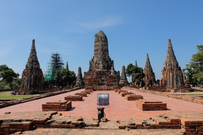 ayutthaya, market, night, temples, elephants, statues, buddha, lying, food, thai, old capital,