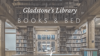 Books and Bed, Gladstone's Library, UK, Wales, Bed and Breakfast