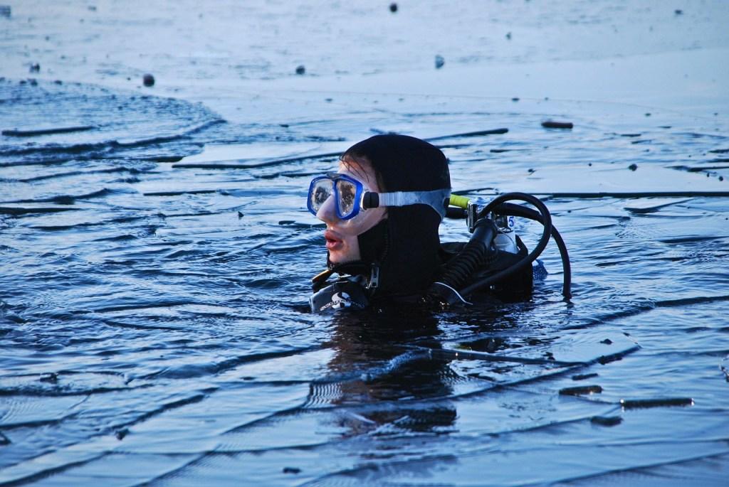polar plunge, ice swimming, Antarctica, extreme sports, adventure travel