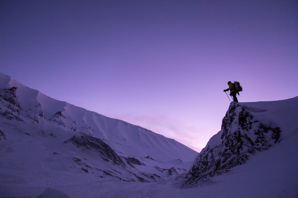 Sunset Hikes, Snow Mountain Hiking, Outdoor Activities, adventure travel