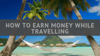 How to earn money while travelling the world via @tbookjunkie