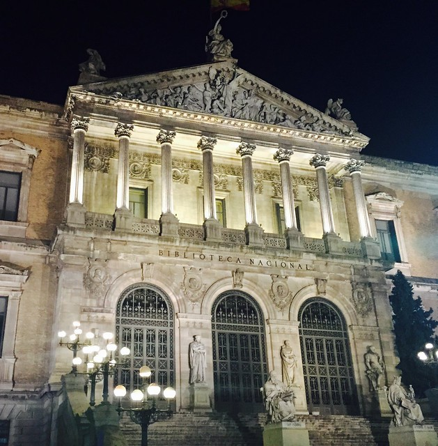 National Library of Spain in Madrid