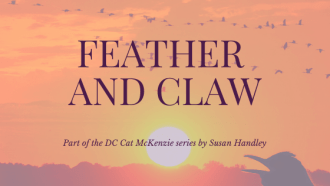 Feather and Claw by Susan Handley: A crime novel set in Cyprus