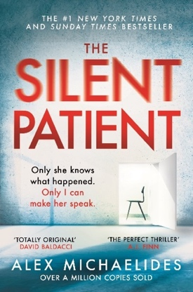 The Silent Patient by Alex Michaelides, one of the most highly rated books of 2019