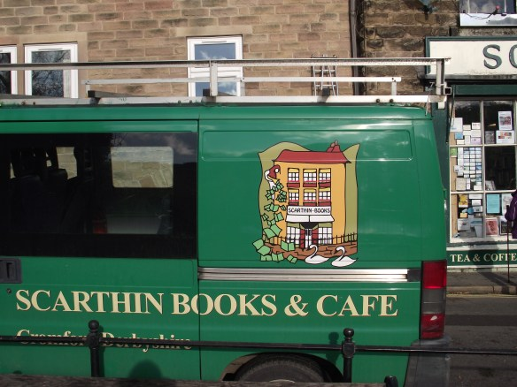 Scarthin Books & Cafe Van
