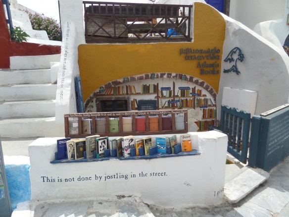 Bookshop in Oia