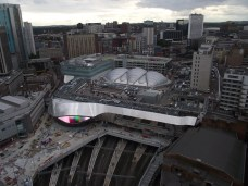 View over New Street Station and Grand Central