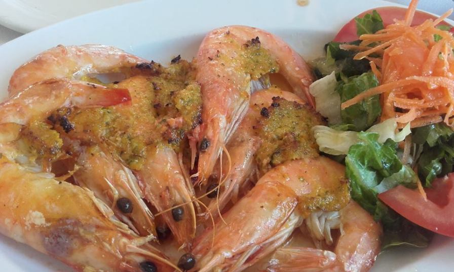 prawns Copy - Packing it all in - 7 days in Skiathos