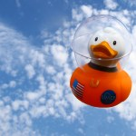 Will anyone take the ducks into space?