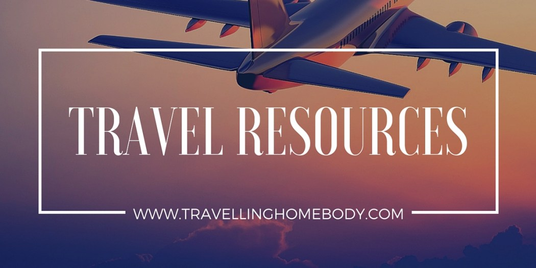 Get my personal recommendations for the best travel resources.
