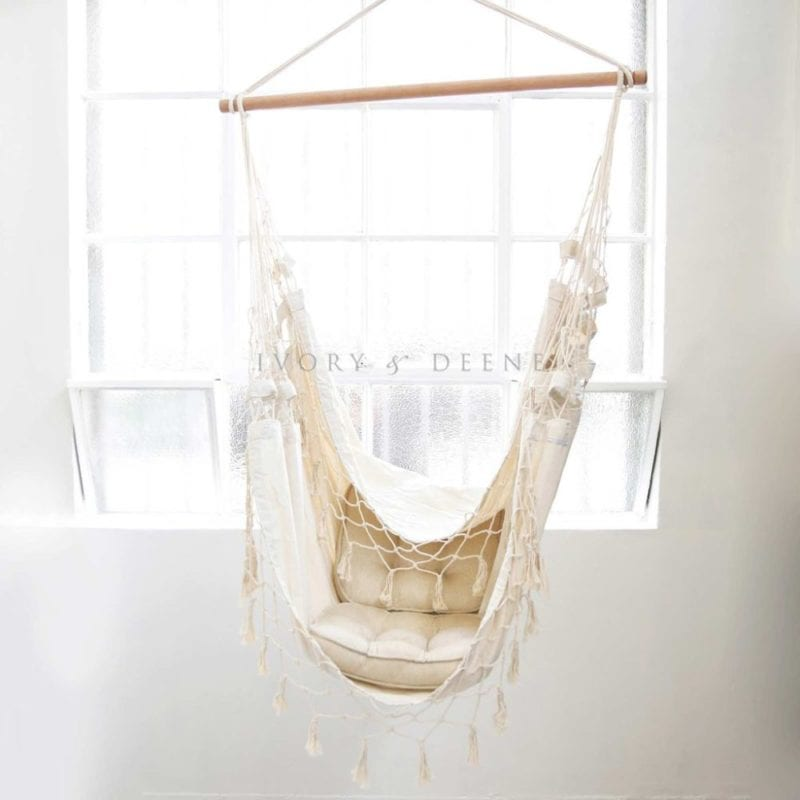 hanging hammock chair west elm and a half luxury cream provincial giveaway