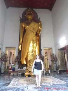 En una de las salas de Wat Pho