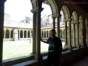 El pequeño claustro, también de estilo románico