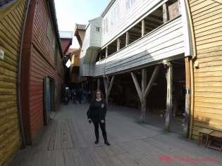 Las misteriosas callejuelas interiores de Bryggen