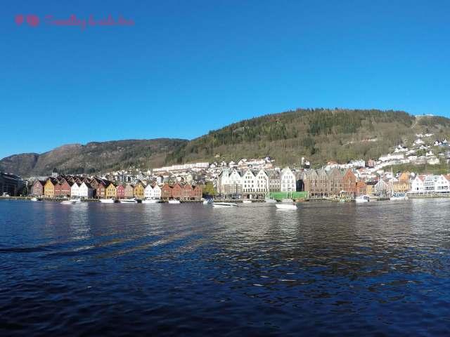 Bryggen desde la otra parte del puerto