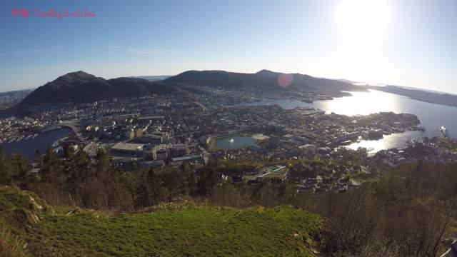 Bergen desde las alturas