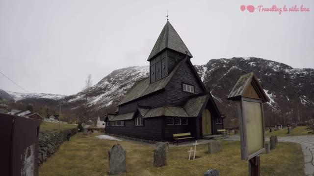 ¡Qué bonitas son las iglesias de madera noruegas!